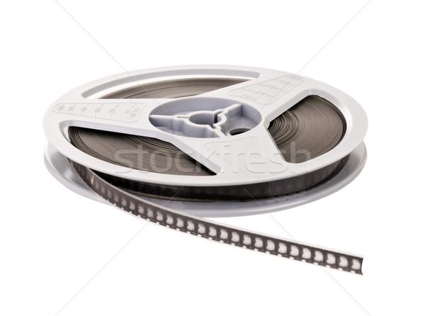 Süper film makarası bağbozumu yalıtılmış beyaz film Stok fotoğraf © THP