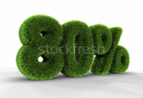 Grass Eighty Percent Stock photo © ThreeArt