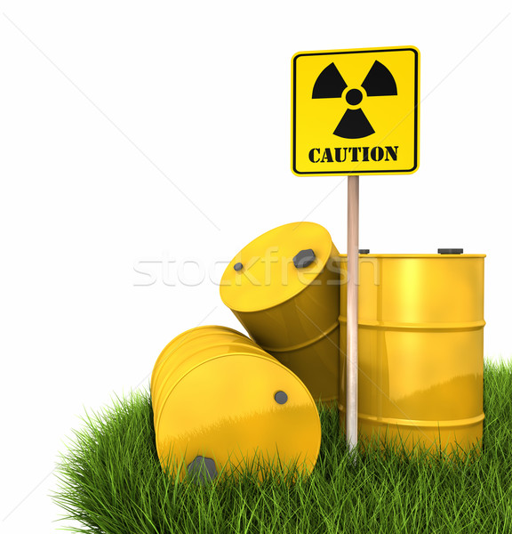 Radioactive Landfill Stock photo © ThreeArt
