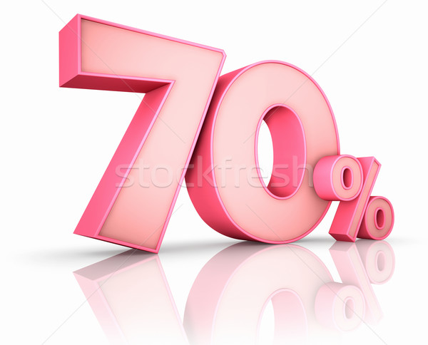 Pink Seventy Percent Stock photo © ThreeArt