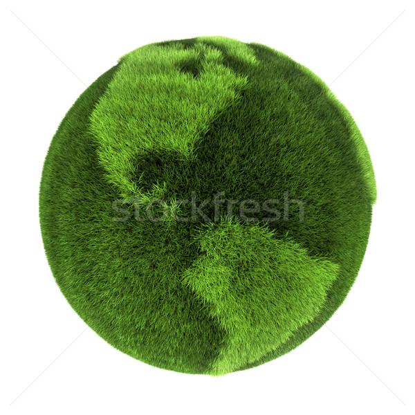 Grass Earth - Americas Stock photo © ThreeArt