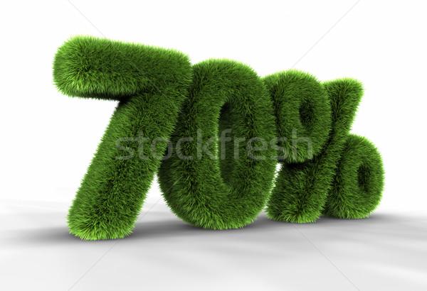 Grass Seventy Percent Stock photo © ThreeArt