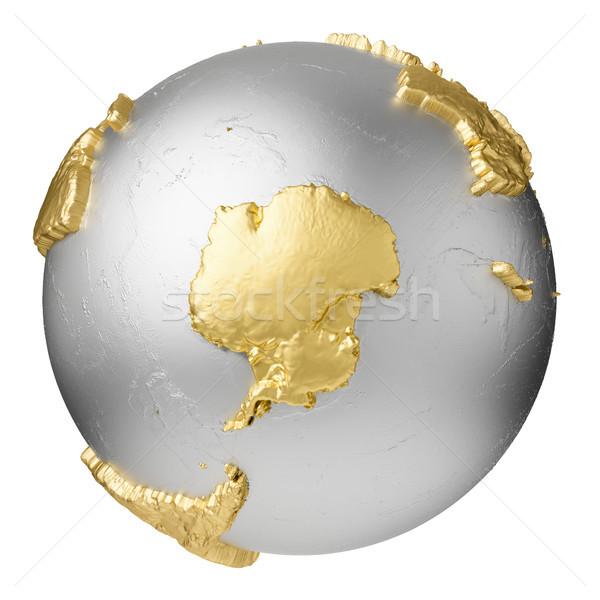 Gold Antarctica Stock photo © ThreeArt