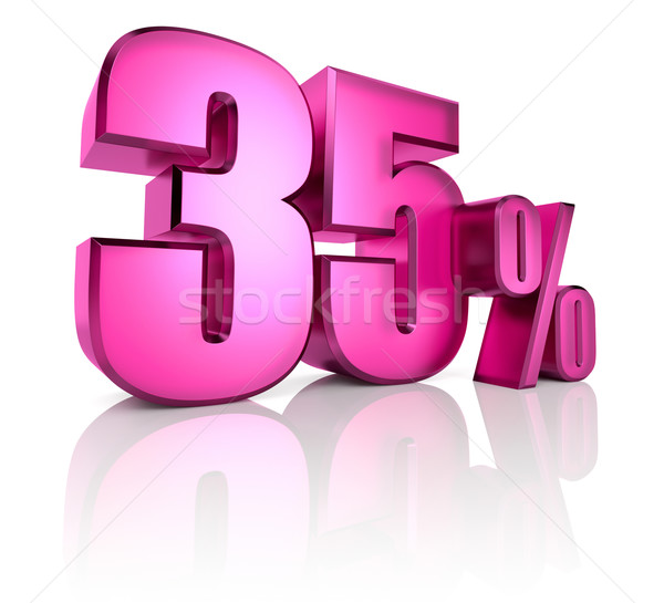 Thirty Five Percent Sign Stock photo © ThreeArt