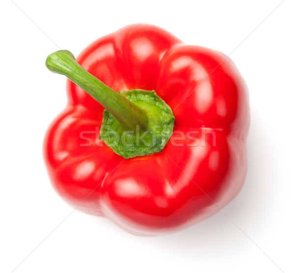 Red Pepper Isolated on White Background Stock photo © ThreeArt