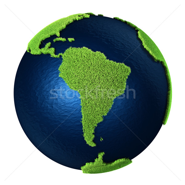 Grass Earth - South America Stock photo © ThreeArt