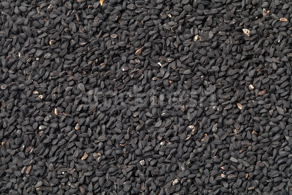 Siyah kimyon tohumları doku üst görmek Stok fotoğraf © ThreeArt