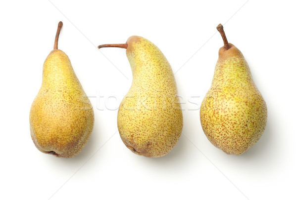 Pears Isolated on White Background Stock photo © ThreeArt
