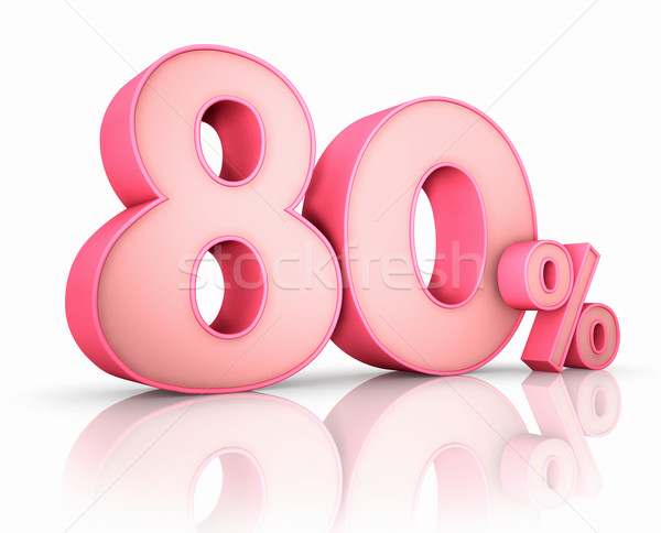 Pink Eighty Percent Stock photo © ThreeArt