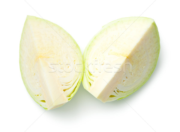 Cabbage Isolated on White Background Stock photo © ThreeArt