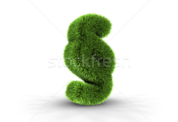 Grass Paragraph Sign Stock photo © ThreeArt