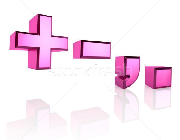 Pink Symbols Stock photo © ThreeArt