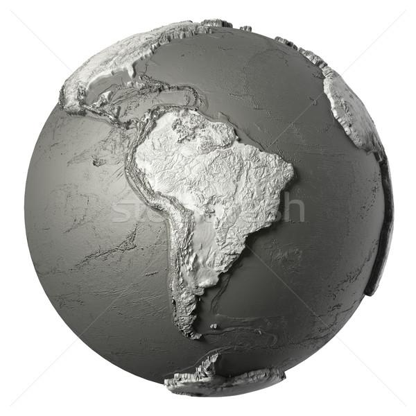 3D Globe South America Stock photo © ThreeArt