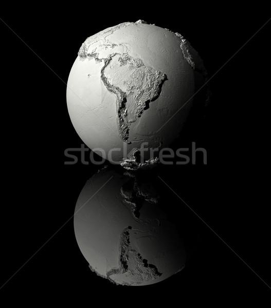 White Globe - South America Stock photo © ThreeArt