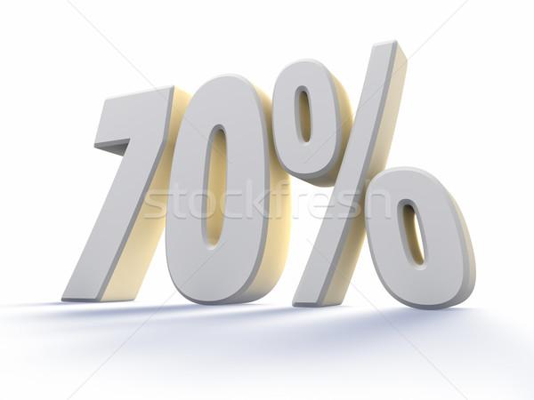 Seventy Percent Stock photo © ThreeArt