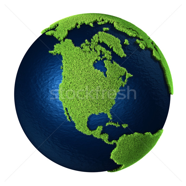 Grass Earth - North America Stock photo © ThreeArt