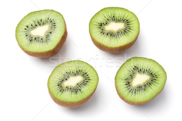 киви фрукты изолированный белый Top мнение Сток-фото © ThreeArt
