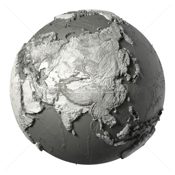 3D Globe Asia Stock photo © ThreeArt