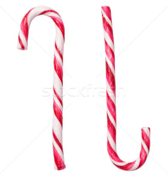 конфеты изолированный белый Рождества продовольствие фон Сток-фото © ThreeArt