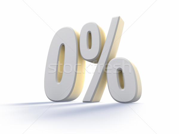Zero Percent Stock photo © ThreeArt
