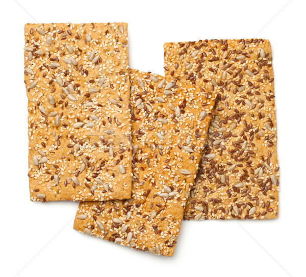 Crisp Bread with Linseed, Sesame and Sunflower Seed Stock photo © ThreeArt