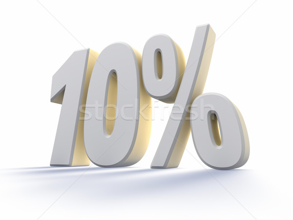 Ten Percent Stock photo © ThreeArt