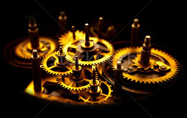 Old Gears Stock photo © ThreeArt