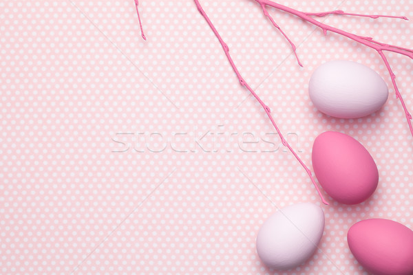 Easter Pastel Background Stock photo © ThreeArt
