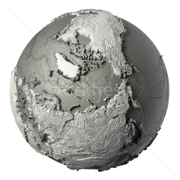 3D Globe North Pole Stock photo © ThreeArt