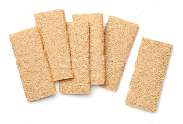 Crisp Bread Graham Isolated on White Background Stock photo © ThreeArt