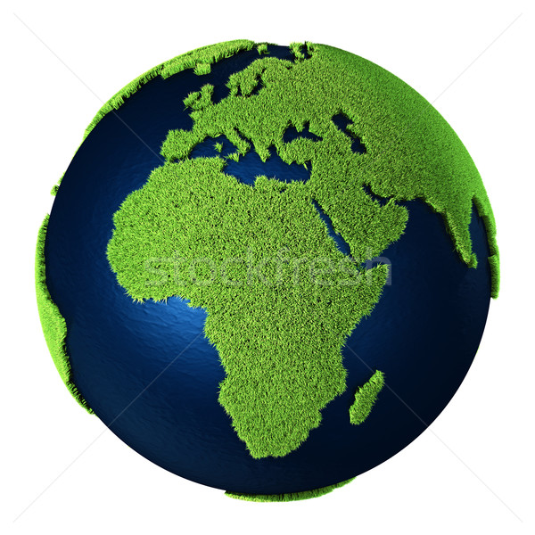 Grass Earth - Africa Stock photo © ThreeArt