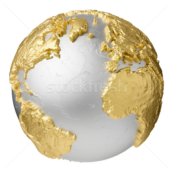 Gold Atlantic Ocean Stock photo © ThreeArt