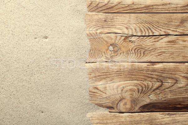 Sand Background Stock photo © ThreeArt