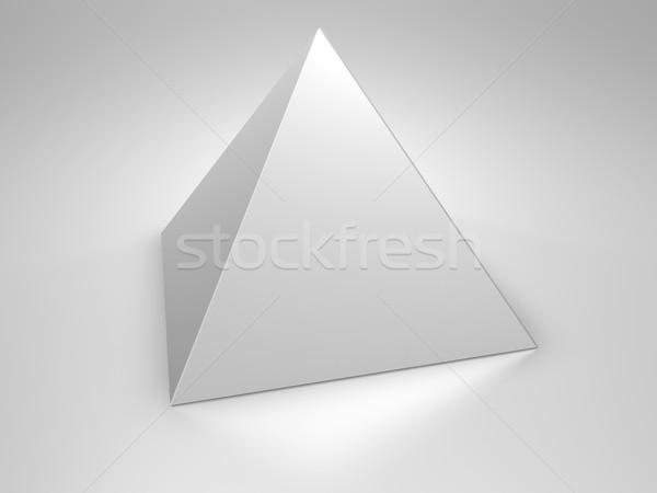 Stock photo: Pyramid