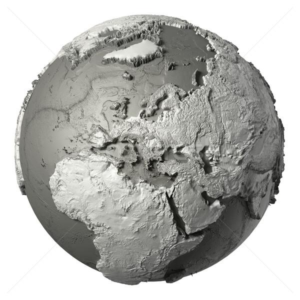 3D Globe Europe Stock photo © ThreeArt