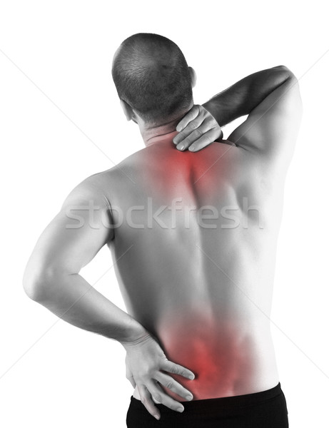 back serious pain Stock photo © tiero