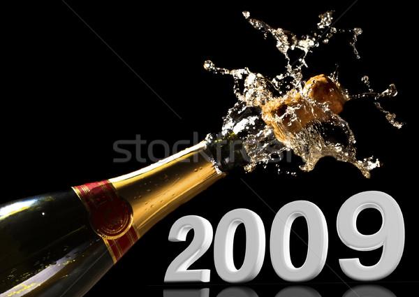 let's celebrate the new year Stock photo © tiero