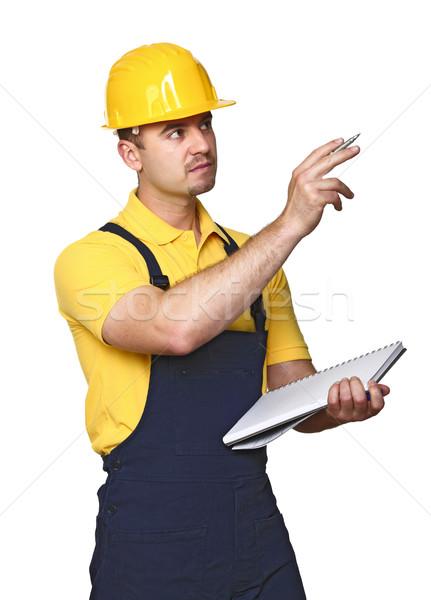 manual worker on duty Stock photo © tiero