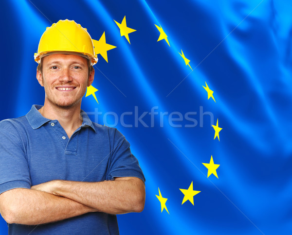 european worker Stock photo © tiero