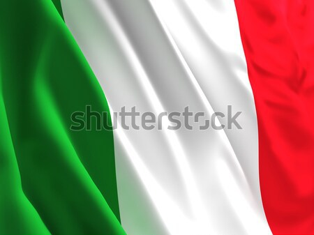italian flag Stock photo © tiero
