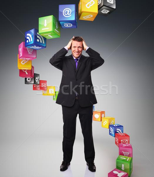 smart cubes Stock photo © tiero