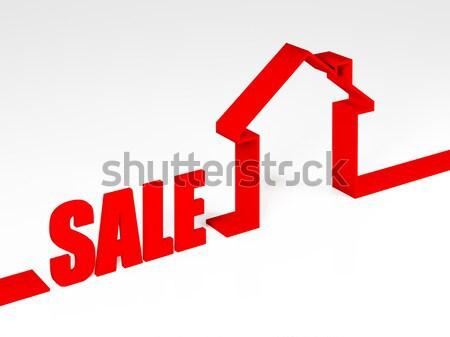 house metaphore Stock photo © tiero