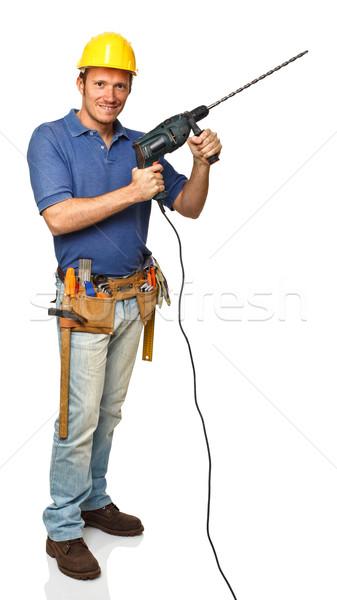 handyman at work Stock photo © tiero
