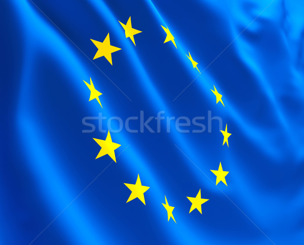 flag of europe Stock photo © tiero