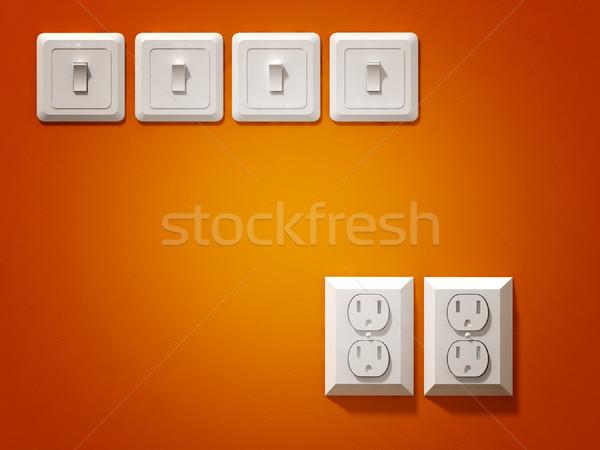 electric plug Stock photo © tiero