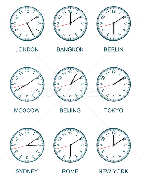 time zone watch Stock photo © tiero