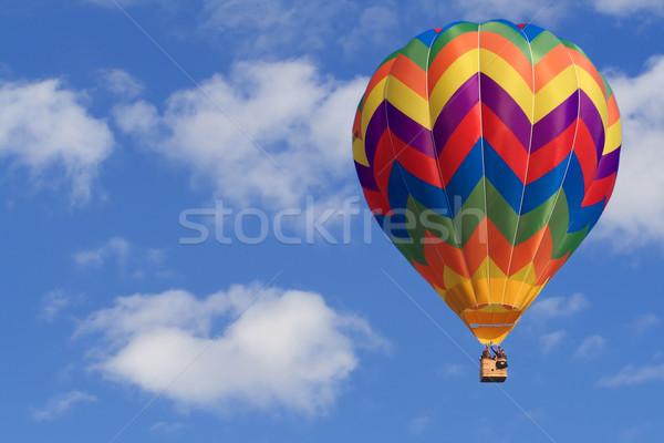 Afbeelding witte wolken blauwe hemel hemel Stockfoto © tiero