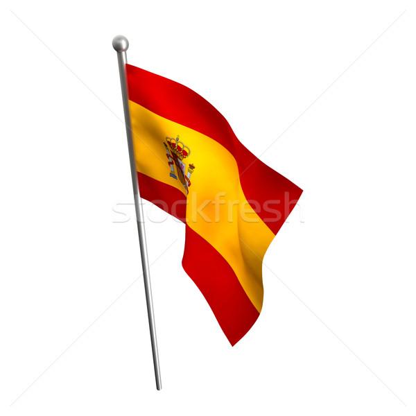 spain flag Stock photo © tiero