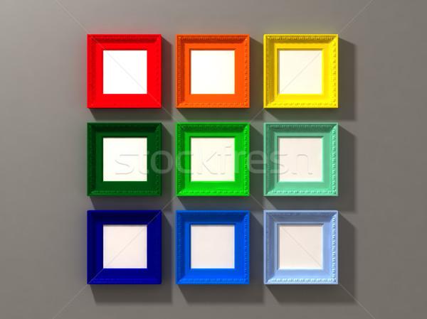 classic frame exposition Stock photo © tiero