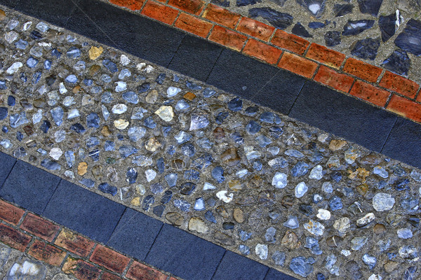 ancient stone street paver Stock photo © tiero